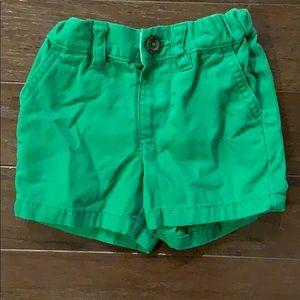 3 items/ $15 - Green Shorts